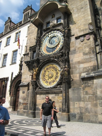 Paul and the Astronomical Clock…