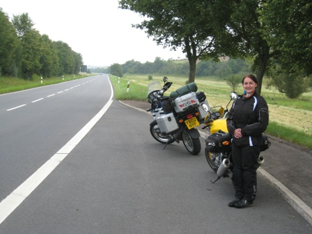 At the roadside, somewhere deep in Germany…