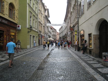 Prague after the rain stopped