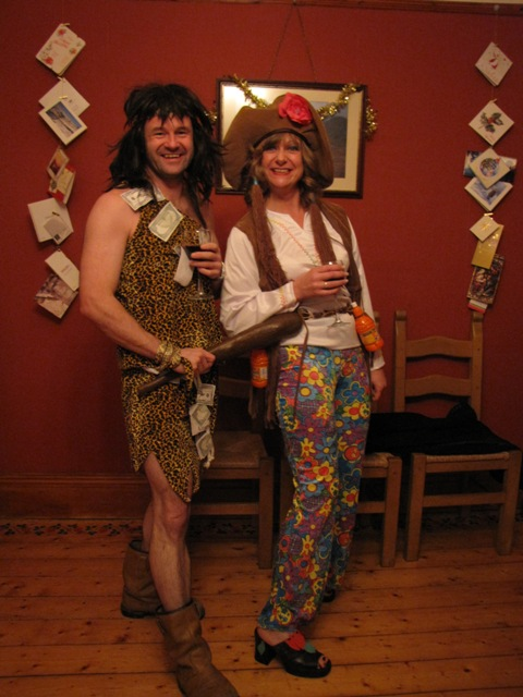 Captain Credit Crunch and Eco-Warrier Recycle Woman