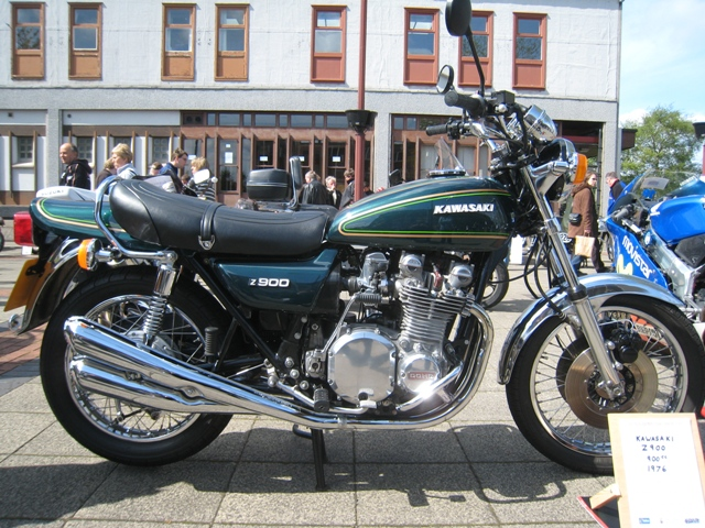 An immaculate Kawasaki z900 just like my brother Kevin used to have in the late 70's