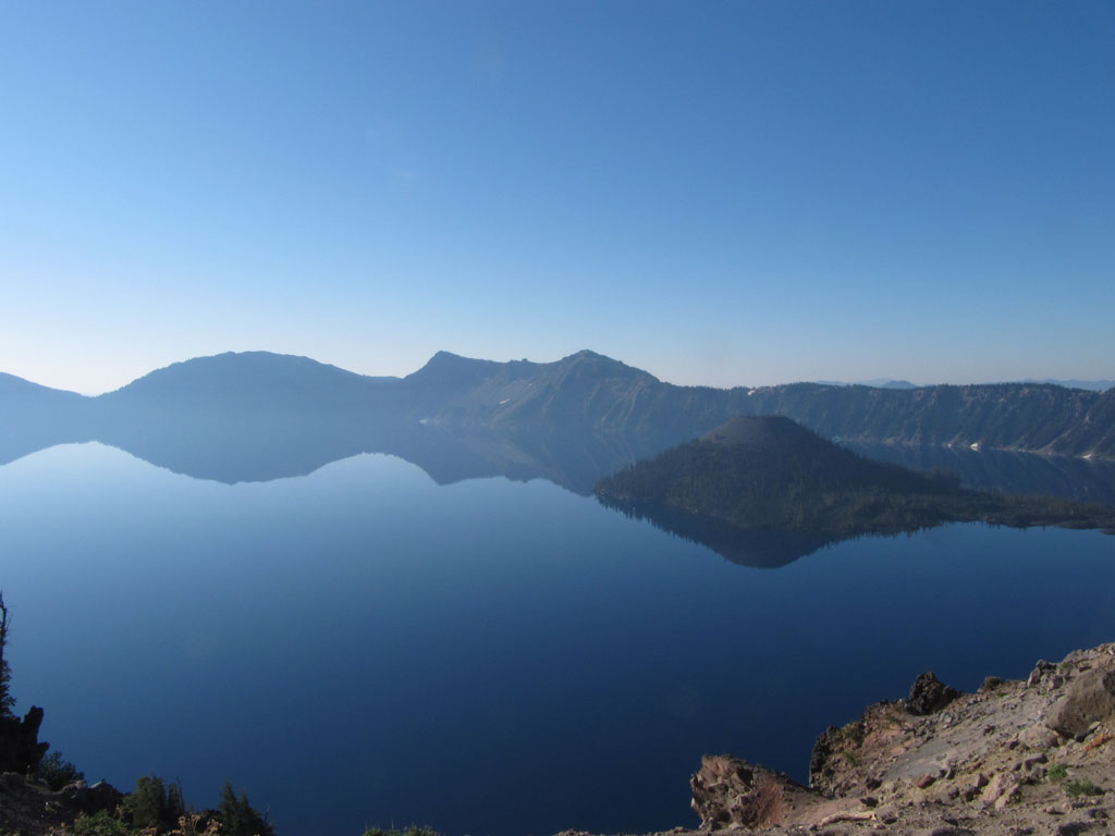 The magnificent Crater Lake