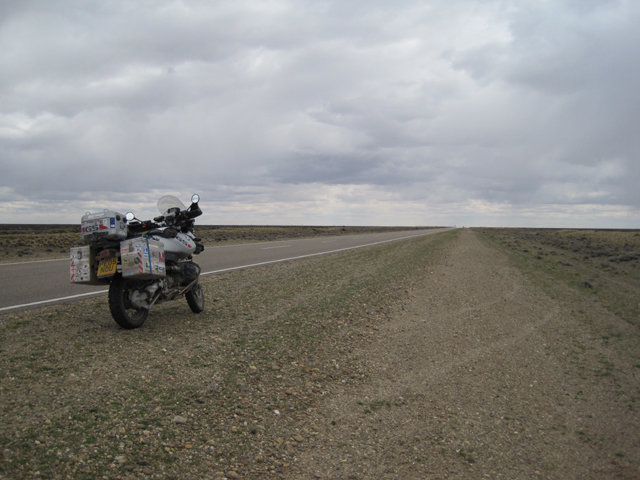 The vast nothingness of Ruta 3...