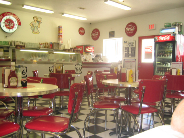 The fantastic café – Twister's Soda Fountain in Williams …