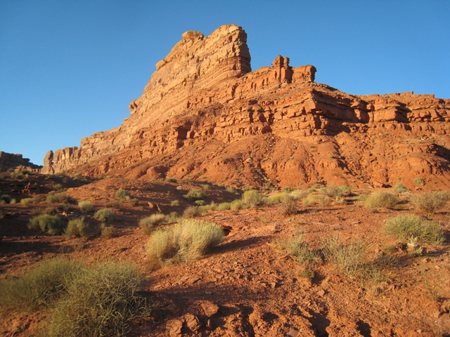 Sunset in Valley of the Gods