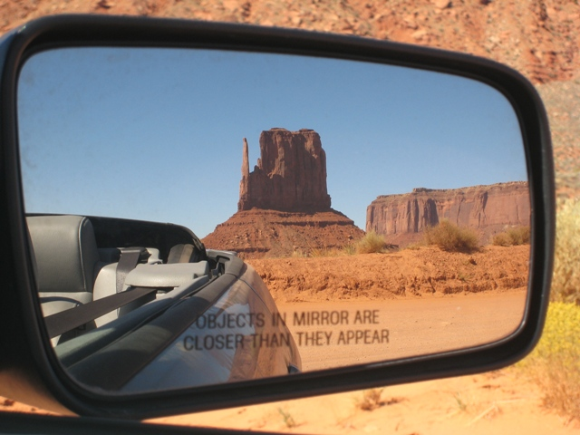 Objects in the mirror are more beautiful than they appear …