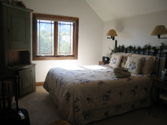Our second bedroom at the Stone Canyon Inn, Tropic